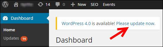 update-wordpress-link